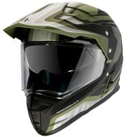 Шлем (Мотард) MT SYNCHRONY DUO SPORT TOURER matt green military black L