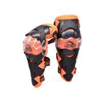 Наколенники Wolf KN01 (черный/ оранжевый)