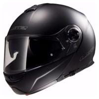 Шлем (модуляр) FF325 STROBE electric SNOW matt black XXL