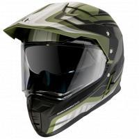 Шлем (Мотард) MT SYNCHRONY DUO SPORT TOURER matt green military black XXL