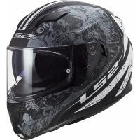 Шлем (интеграл) FF 320 STREAM EVO THRONE Matt Black Titanium L