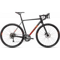 Велосипед CUBE CROSS RACE black'n'red 56 cm 21'