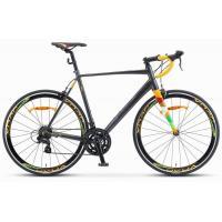 Велосипед STELS XT280 23 серый/желтый артV010