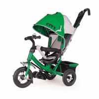Велосипед 3-х кол JW7GB зеленый, надув. шины