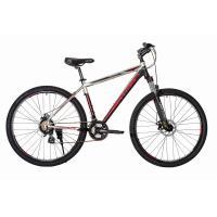 Велосипед HARTMAN Ingword Pro Disk 17'' 21ск. алюм, хром черно-красный