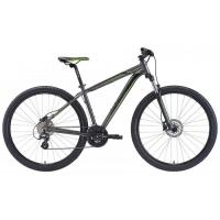Велосипед Merida Big Nine 15-D 17''M '20 SilkAnthracite/Green/Black (29'')