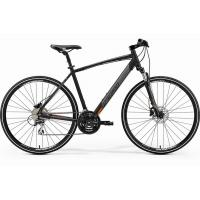 Велосипед Merida Crossway 20-D 48cm SM '19 Matt Black/Orange (700C)