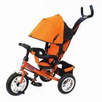 Велосипед 3-х кол P2O оранжевый, надув. шины 12/10