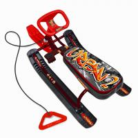 Снегокат Тимка спорт 2 Граффити красный (420мм) ТС2/ГК