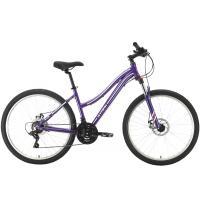 Велосипед Stark Luna 26.2 D фиолетовый/серебристый 18'' (2021)
