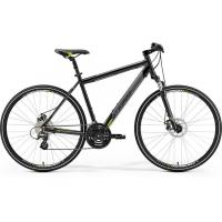 Велосипед Merida Crossway 15-MD 55cm L '19 MetallicBlack/Green (700C)
