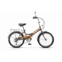 Велосипед Stels Pilot-350 13 арт.Z011 черный/оранжевый