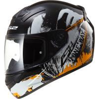 Шлем (интеграл) FF352 ROOKIE ONE BLACK FLUO ORANGE XL