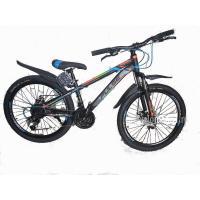 Велосипед PULSE MD2000 серый/синий/красный