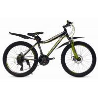 Велосипед Platin A261 19 черный/зеленый