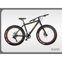 Велосипед KMS Lite HD1010 FATBIKE черно/красный