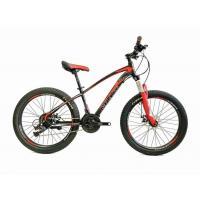 Велосипед Crait Suprime Disc 13'' 21ск, black/red (2021) полуфэт