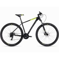 Велосипед CUBE 19 AIM PRO 29 black'n'flashyellow 19''