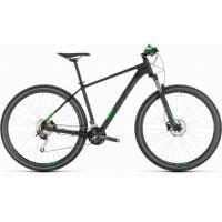 Велосипед CUBE 19 ANALOG 27.5 black'n'green 18''