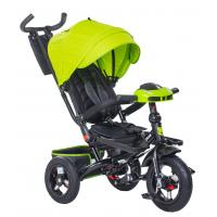 Велосипед 3-х кол BA IC5099, поворотный, фара, зеленый