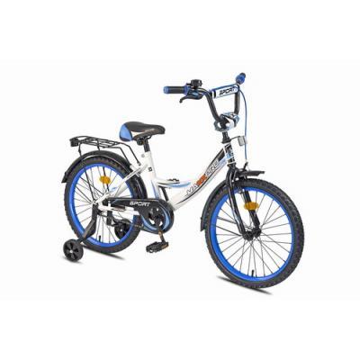 Велосипед MAXXPRO 14-6 сине-белый