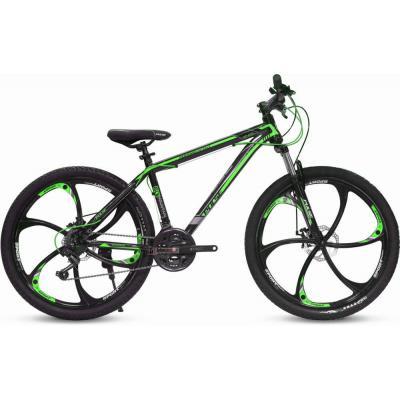 Велосипед PULSE MD400L 19черный/зеленый