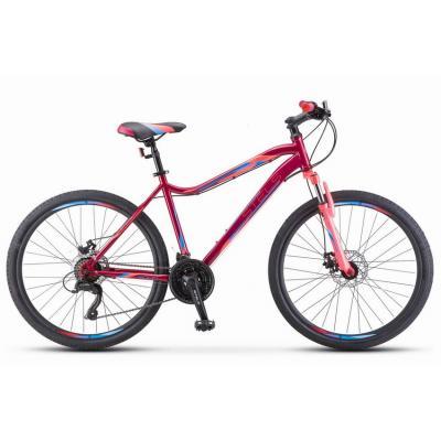 Велосипед Stels Miss-5000 MD 18 Вишневый/розовый арт.К010