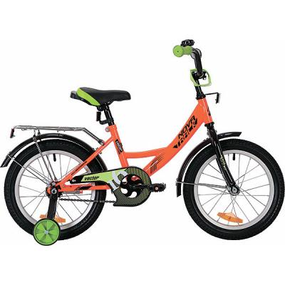 Велосипед NOVATRACK 18'',VECTOR, оранжевый