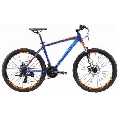 Велосипед Welt Ridge 1.0 D '19 dark blue/orange L