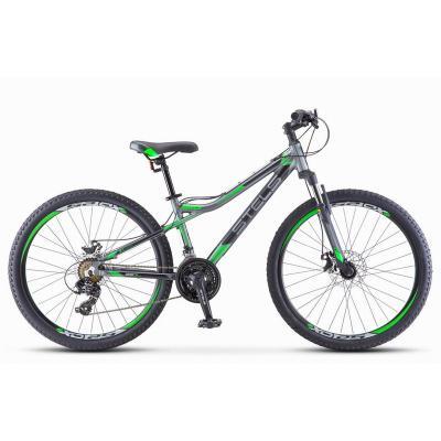 Велосипед Stels Navigator-710 MD 16 антрацит/зеленый/черный арт.V020