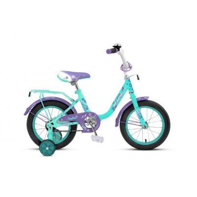 Велосипед MaxxPro SOFIA-12-3 бирюзово-сиреневый
