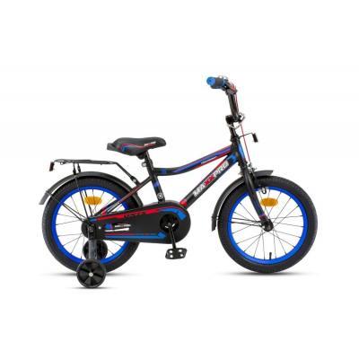 Велосипед MaxxPro ONIX-М16-5 черно-синий