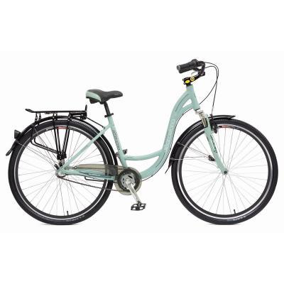 Велосипед Stinger Barcelona STD17'', алюм. 3-ск., зеленый