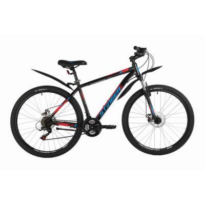 Велосипед Stinger Caiman D, 20 черный (2021)