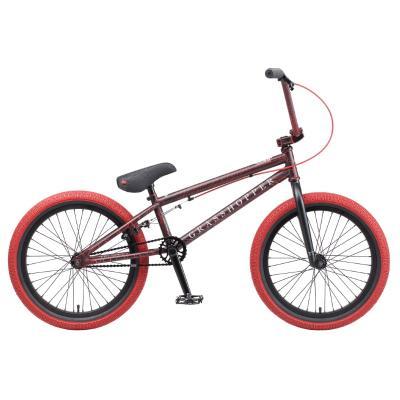 Велосипед TechTeam Grasshoper 20'' сталь, черно-красный
